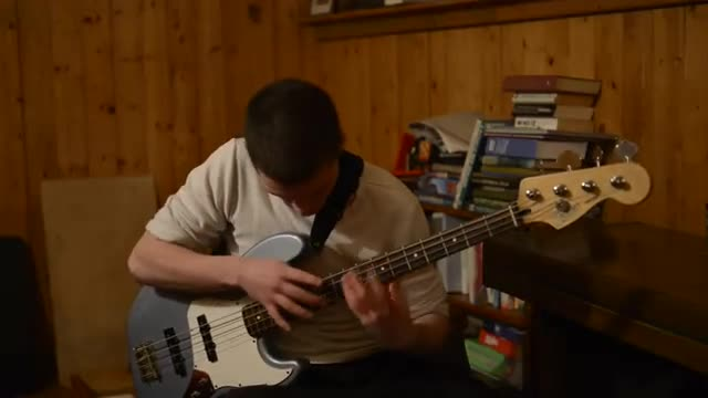 bass slut. .. This sounds famiiar. This is a cover right? I swear I've hard something like this before.