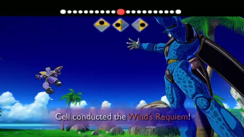 You learned Wind's Requiem. Source: ..  When Lord Freeza sends you out to fight a bug man and you wish you were back home having frog sex