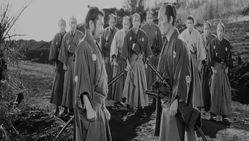 Blink. and you'll miss it... Shogun Assassin. pretty decent movie