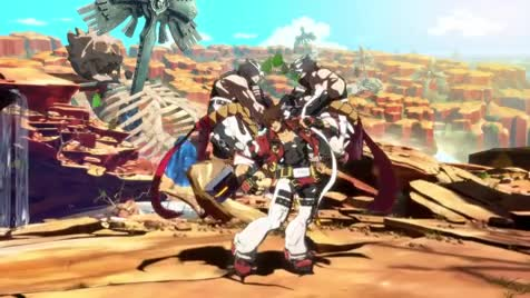 Guilty Gear -StrIVe- trailer. We finally know the smell of the game. R.I.P. Xourth... Kerenny, he is reverting back into being a psycho. We should better hide now.