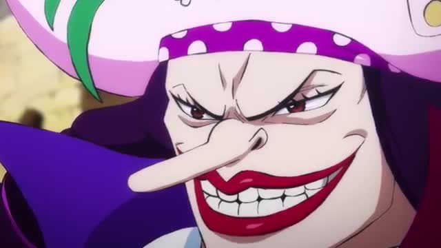 Blackbeard. join list: onepiece (236 subs)Mention History.. poor Moria, his first crew got bodied by Kaido and then his new crewmate Absolm got killed for his fruit, now who knows what's going to happen to him
