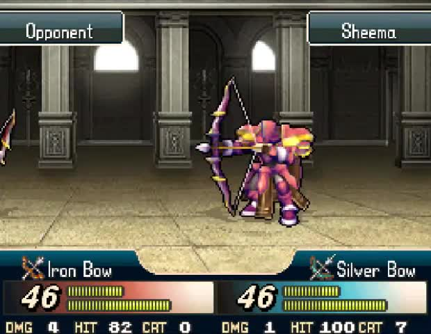 """""""Fire Emblem is a good game"""". .. the arena can be gay as , yes"""