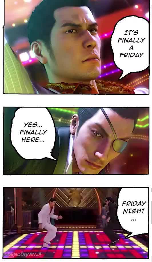 Friday ht. join list: daysoftheweek (339 subs)Mention History.. Yakuza Soundtrack Thread