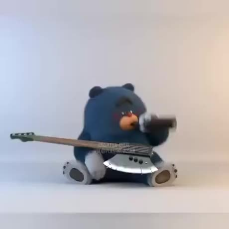 Bear Pun. .. I guess this is an animation test.