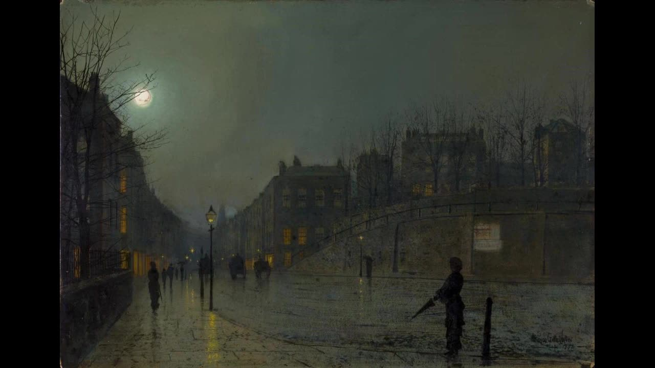 Cold trash. join list: GypsyTrash (3784 subs)Mention History Nymano - I Wish I Could Sleep Youtube - Painting - View of Heath Street by Night created by John At