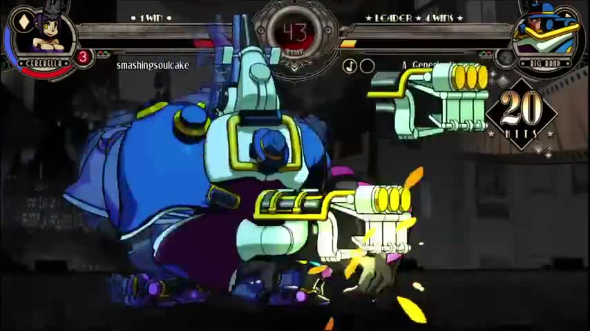 Gee bill, 2 references?!. I have heard about Skullgirls before, but after seeing this video, I'll check more about that game Source : join list: SaikyoFighters