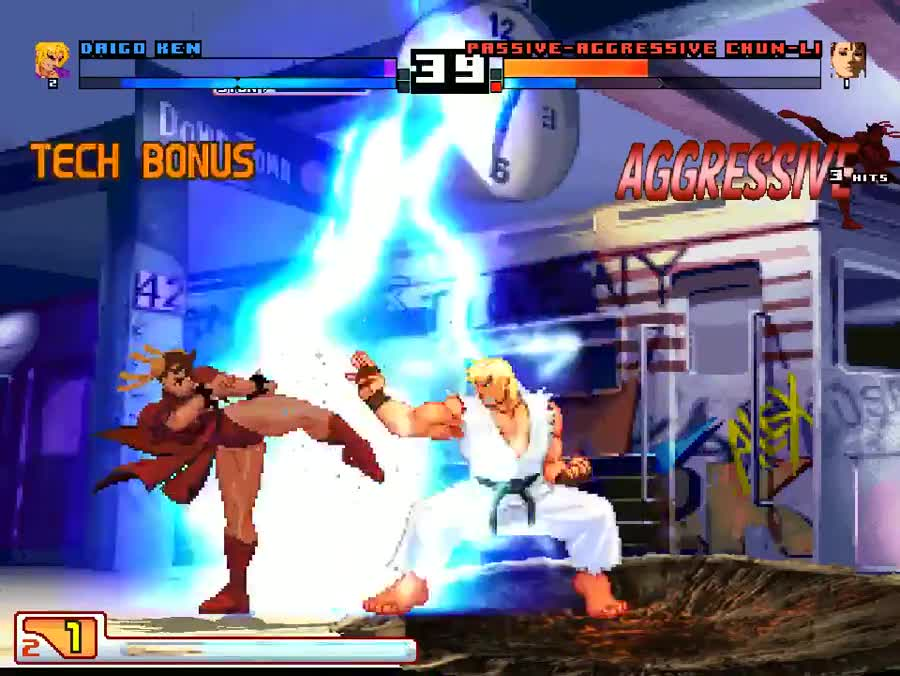 MUGEN ery. join list: SaikyoFighters (329 subs)Mention History ^ Fighting games list.. Alternative ending