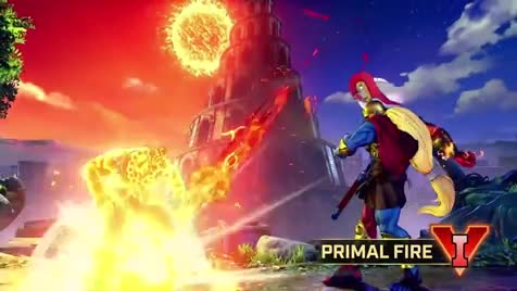 Street Fighter V - Gill Reveal Trailer. Can you hear it? RESURRECTION!.. Kerenny, IcyHot Jesus makes his return. My DNA feels pretty scarred right now.