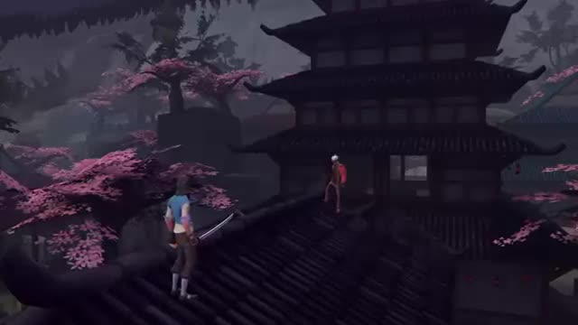 Brooding-Ninja-Highschool-Parkour Scout. By AnAngrySockPuppet on YouTube.. My god, this describes anime too perfectly