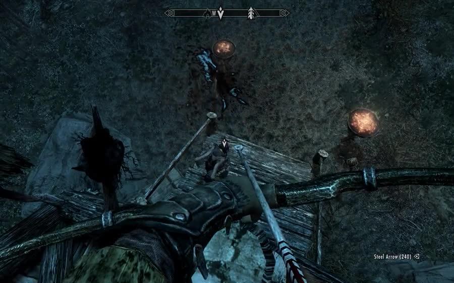 Bethesda plz. .. That arrow also had a very expensive damage magicka regen poison.