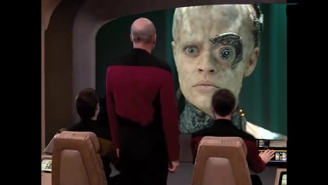 YOUR PANTS BELONG TO THE BORG. Made by Cessquatch.. ass-immolate my balls in your Borg mouth -Picard, probablyComment edited at .