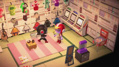 Comp-pics and short vids. .. I've never played animal crossing myself. It looks pretty interesting