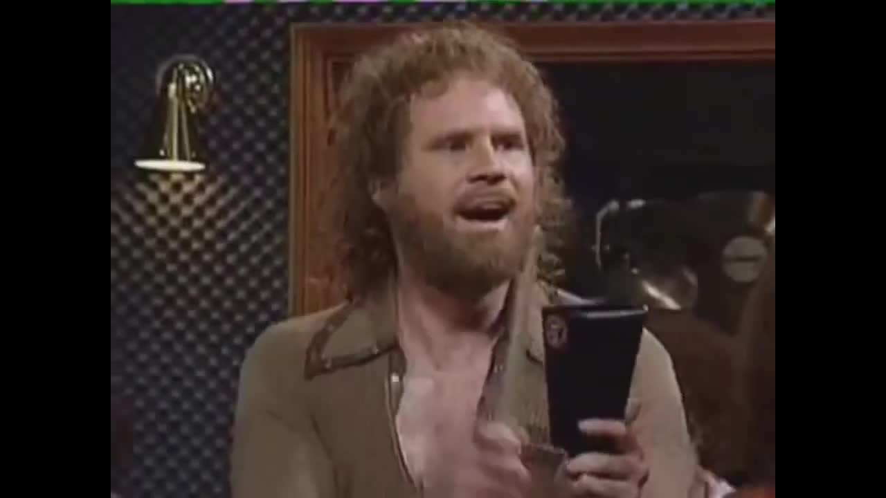 Needs more cowbell. .