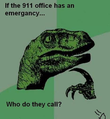 911 philosophy. .. Ghostbusters