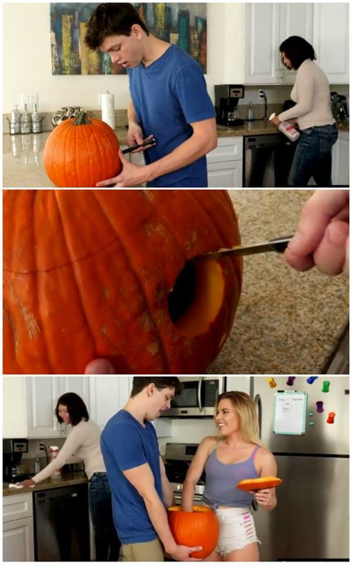 A Halloween Treat. join list: LewdListings (1719 subs)Mention History join list:. I see why it's called a jack-o-lantern