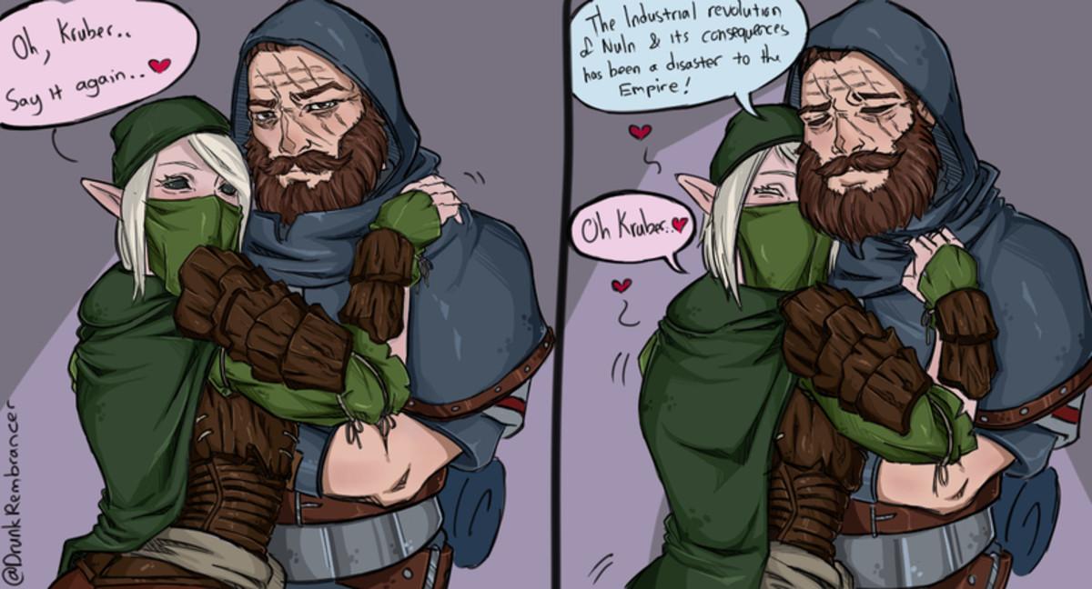 A Taal Tale. .. the wood elf needs his hunter wood