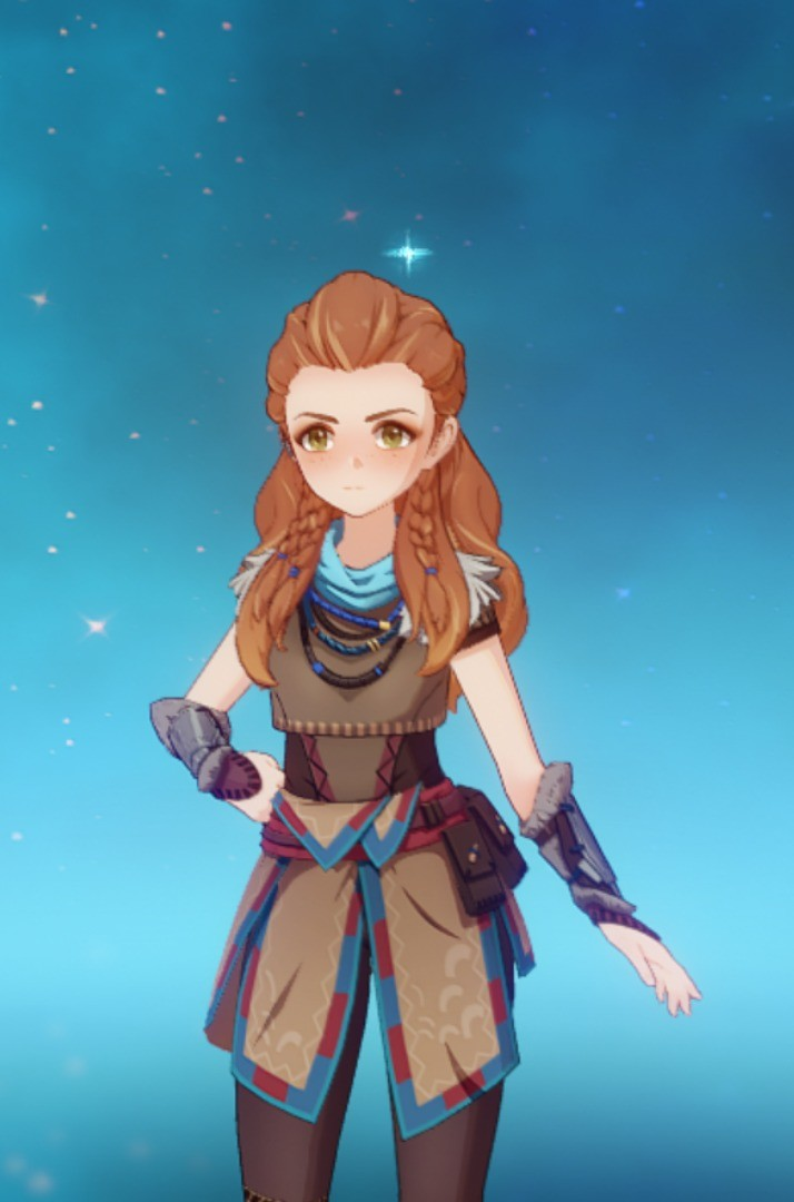 Aloy?. Was there an event for this chick I missed? Saw another dude with her.. as of 2.1 she can only be gotten on playstation after 2.2 she will be free for everyone