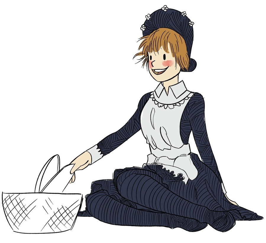 Amelia Bedelia. just me trying to mimic the Amelia Aedelia style... Oh no, we're lewding childhood memories again.