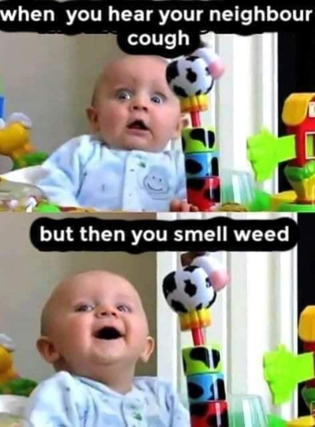 """And he can't share it. .. >Inb4 annoying """"lmao weed dude"""" comments."""