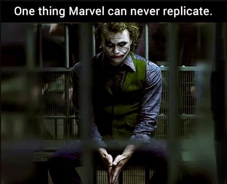 And neither will DC. join list: MarvelStuff (205 subs)Mention History.. a society?