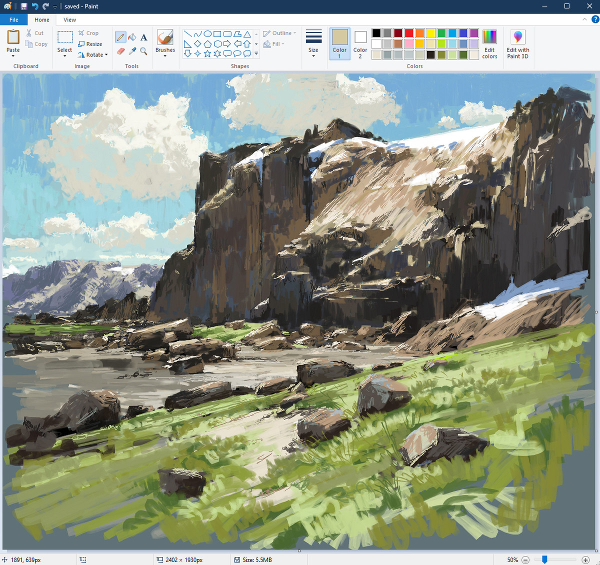"""""""Another quick sketch in paint!"""". Posted by this jokester; .. Why are there like hundreds of chinese viewing this page Somethings weird"""