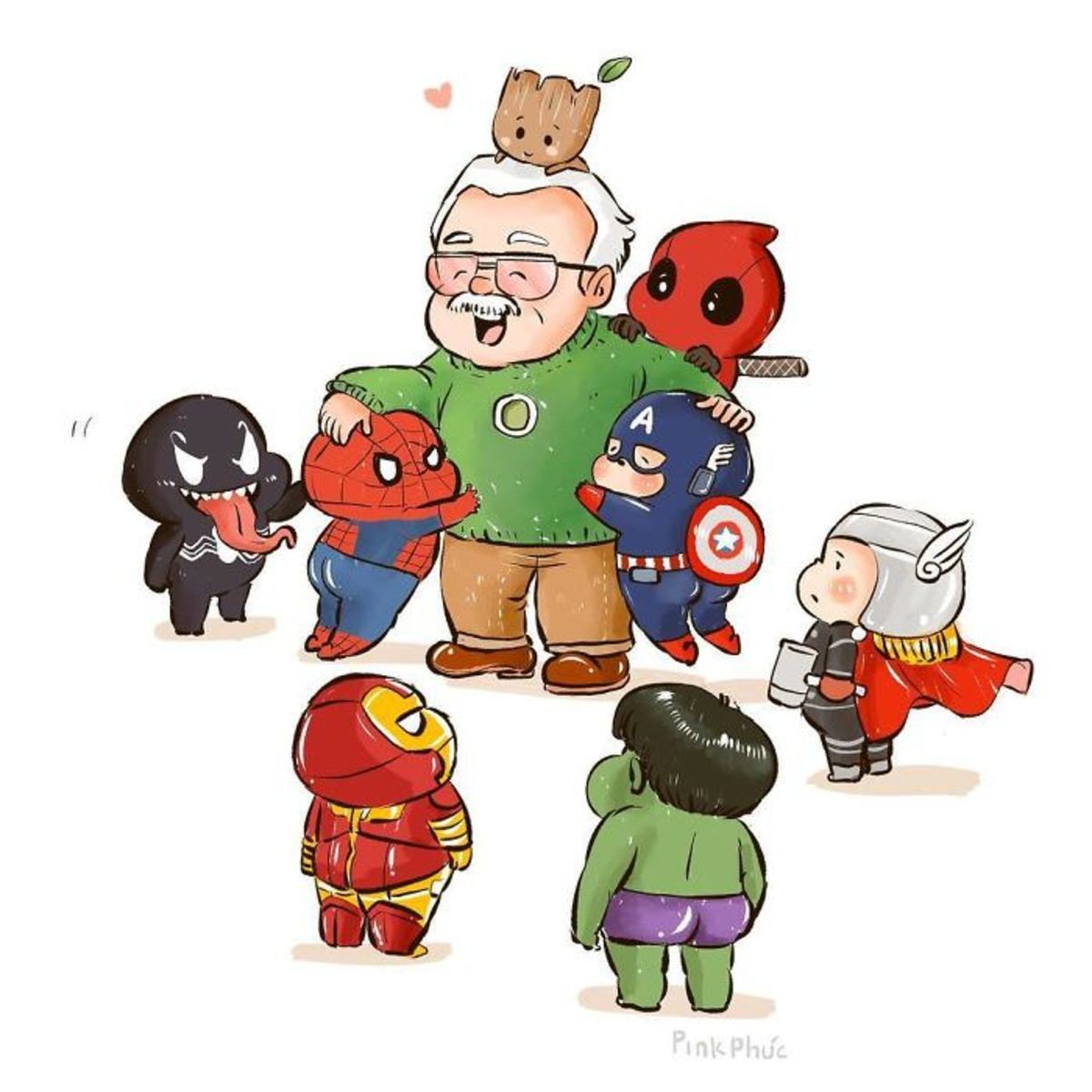 Artists from around the world pay tribute to Stan Lee. join list: MarvelStuff (205 subs)Mention History.. After seeing this, now it hits me thats he's gone... God damn....