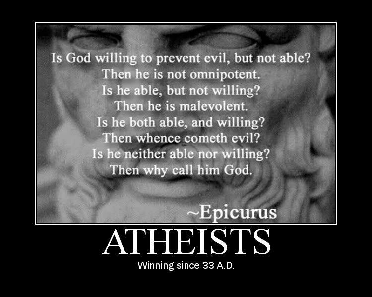 atheists. ^_^.. super-duper, done a thousand times, mega, repost!