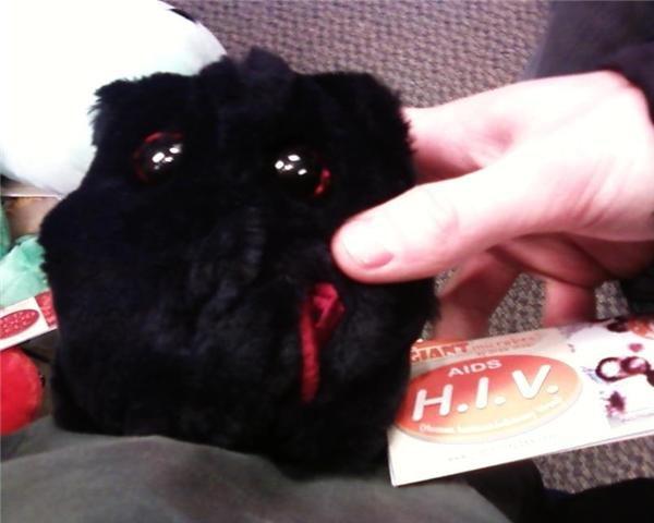AWWWW!. You gave me HIV!!!.. Ahahahahahah