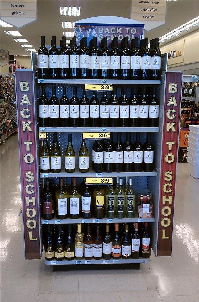 Back to school. . trim. Funny... as a side comment - goddamn! When did wine become cheaper than milk?