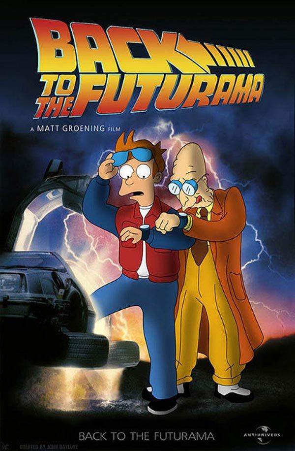 Back to the futureama. . A MATT GREETING FIN. -E