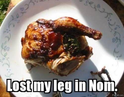 Back in Nom. Lost muh leg. lost my leg in nah