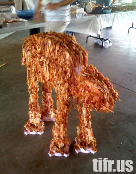 Bacon AT. .. quick get my tauntaun we must eat this epic beast before is blows up our sheilds