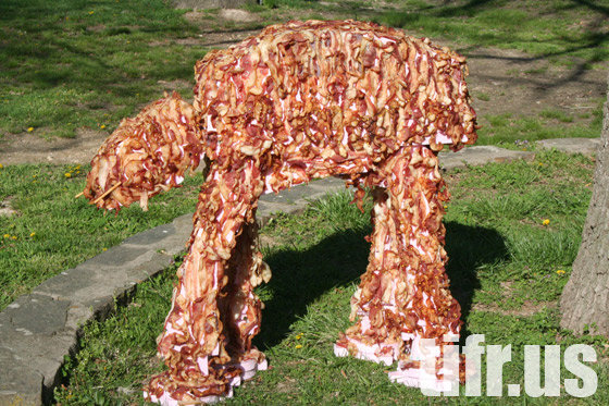 Bacon AT AT. I mean we all love Bacon and Star Wars right? This AT-AT is SO Bacon!.