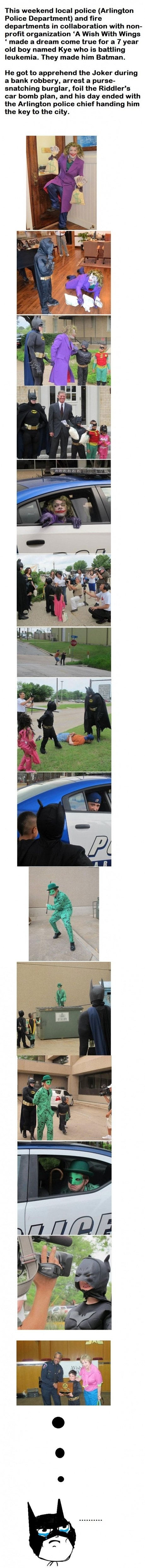 Bad circumstances - awesome day. Im 20 years old, and i want to try this!!. This weekend local police (Arlington Police Department) and tirty departments in col