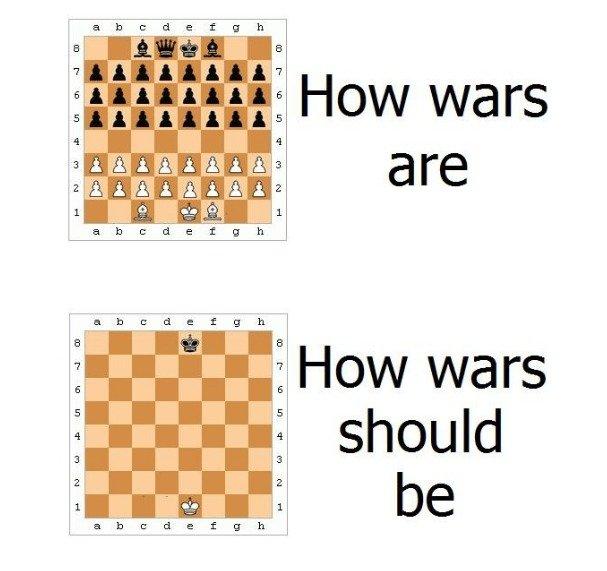 Bad ideals, always killing many. .