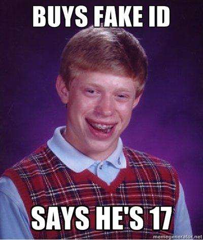 Bad Luck Brian Strikes Again..... .
