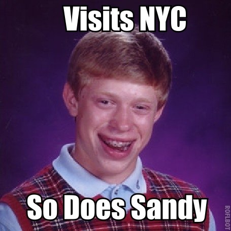 Bad Luck Brian Strikes Again. .. I hate this damn meme, it's not funny
