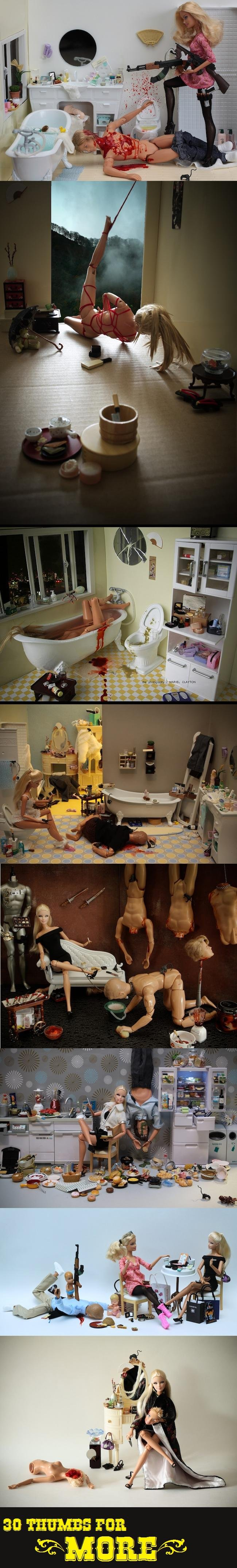 """Bad Barbie. alright, here's the second one<br /> <a href=""""pictures/1548664/Bad+Barbie+2/"""" target=blank>www.funnyjunk.com/funnypictures/154"""