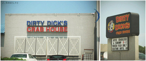Bad Naming. .. I Get My Crabs From Dirty Dicks!LOL