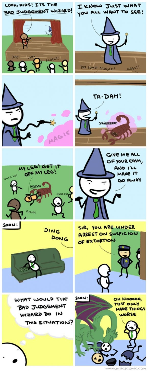 bad judgement wizard. not mine, so dont bust a nut crying. trl 'nu an umma': -Iau set: