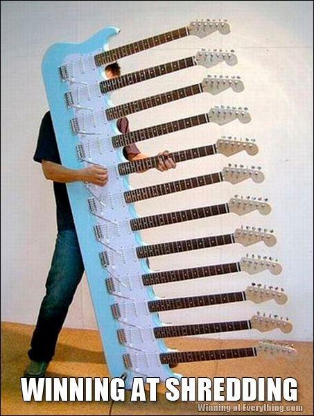 Badass guitar. . WINNING?'