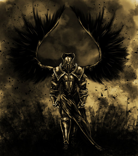 Badass Angel. .. that is some right there