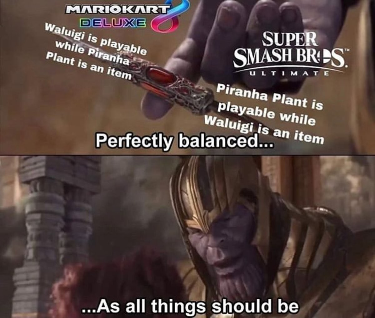 balance. .. Just played smash for the first time since the early days of brawl. Besides the stupid ass stages with titling and disappearing platforms and sudden stage drops