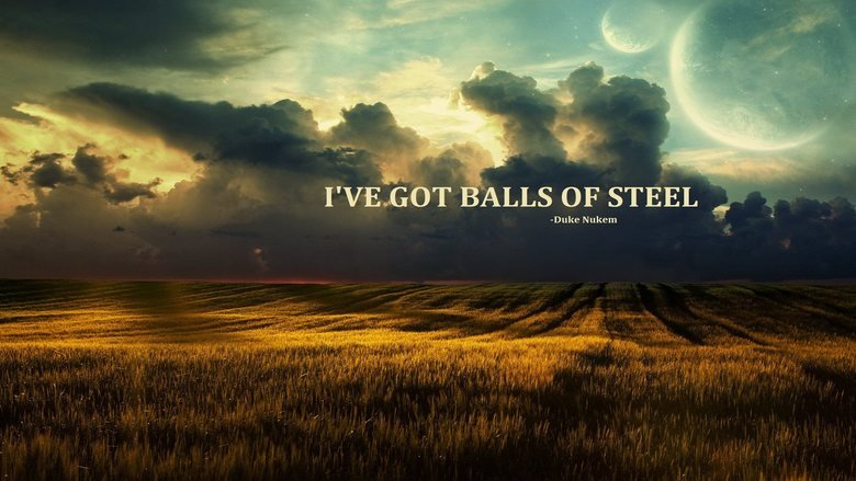 Balls of steel... Found this on 4chan.. That was...Beautiful.