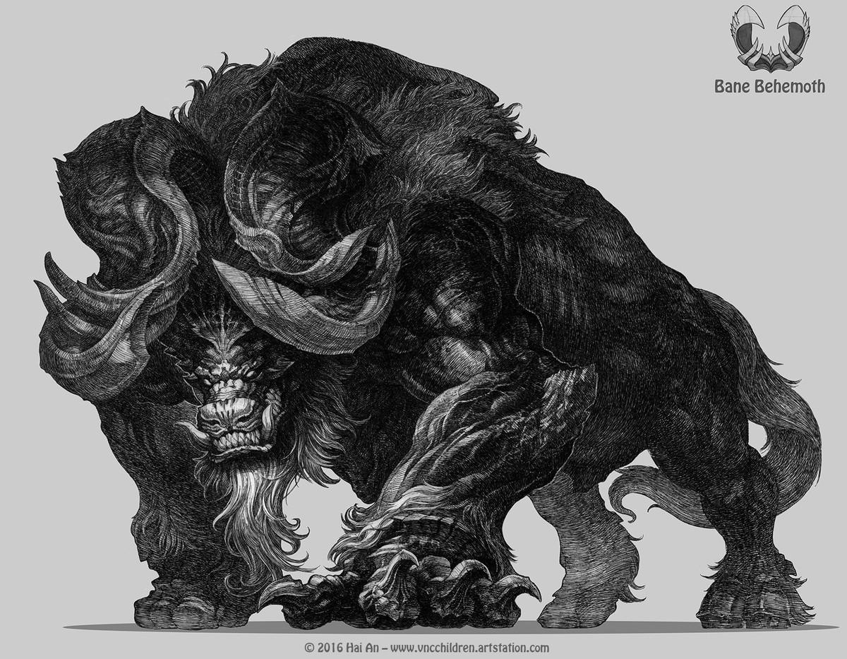 Bane Behemoth by Hai Hoang. .. Badass