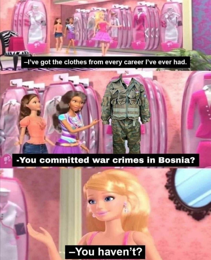 Barbie Girl. .. Was it really a crime if you had a good time?