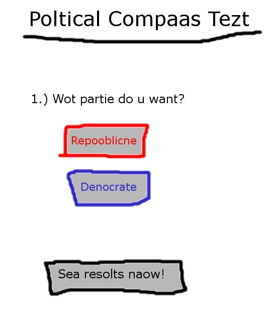 Based Political Compass Test. . Poltical Cornea's Test L) Wot partie do u want?. Is this in Dutch?