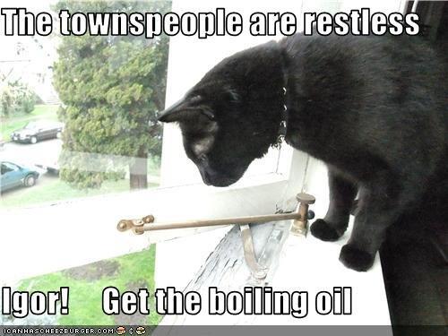 basement cat. . 2 restless END