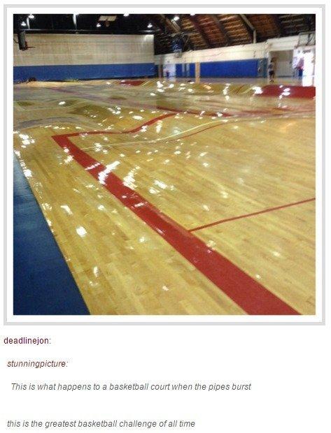 Basketball Challenge. .