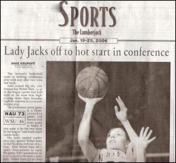 Basketball. . Lady jacks off to hot start in conference an .rawk hlt' , lust 'ml IAI ltt coolerest anan my u I r III Jr. hurling kt an In h: the innit may Atat